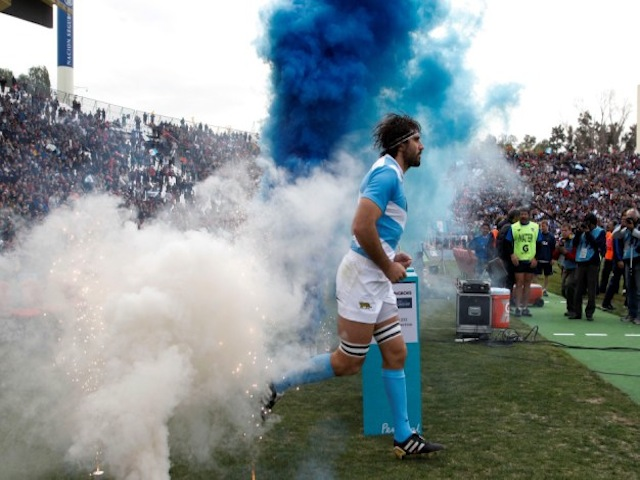 APTOPIX Argentina South Africa Rugby