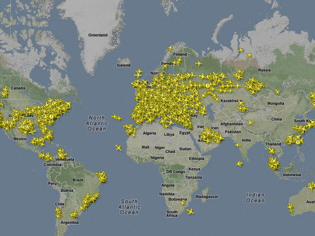 Track Any Flight, From Anywhere To Anywhere, In Real Time