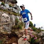 Ryan Sandes giving it his all on Lion's Head (c) Craig Kolesky, Nikon, Red bull Content Pool