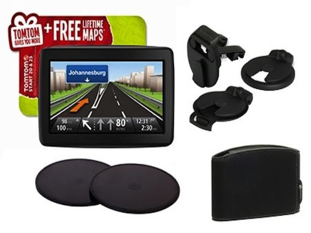 Still Don't Have GPS? Get This TomTom Bundle With Lifetime Maps For