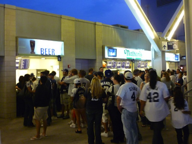Bathroom Queue the future of stadiums – app tells fans where shortest beer and