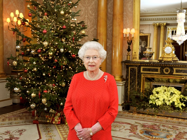 Queen Elizabeth II's 2011 Christmas Broadcast At Buckingham Palace