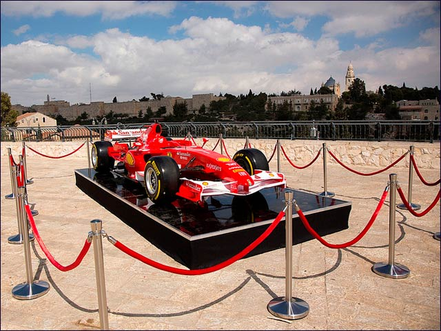 Formula One is the highest class of single-seater auto racing