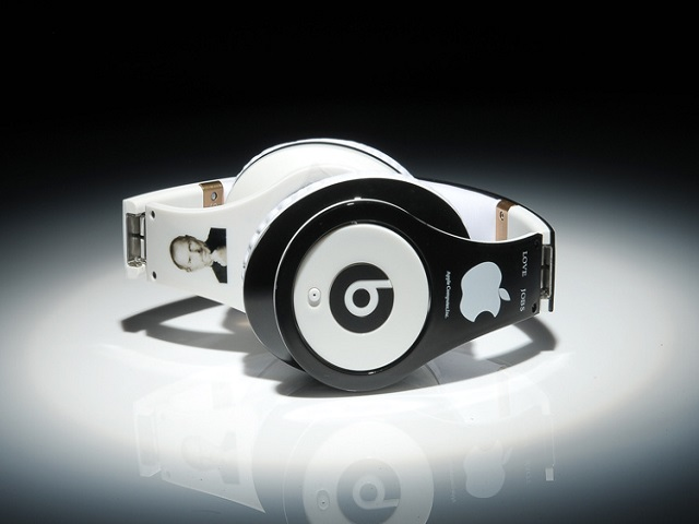 Beats By Dr Dre Studio Steve Jobs Commemorative Edition Headphones Black White_02