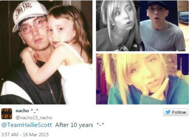 Eminem Hailie Now
