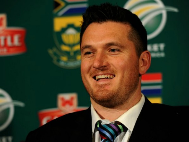 Proteas captain Graeme Smith is seen at a news conference on Monday, 2 July 2012 in Johannesburg ahead of the national cricket team's departure for Europe and the tour of England which begins on July 9th. Picture: Werner Beukes/SAPA