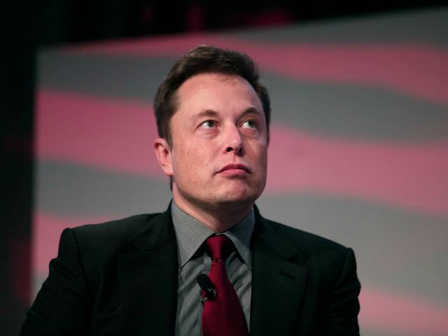 DETROIT, MI - Elon Musk, co-founder and CEO of Tesla Motors, speaks at the 2015 Automotive News World Congress January 13, 2015 in Detroit, Michigan. (Photo by Bill Pugliano/Getty Images)