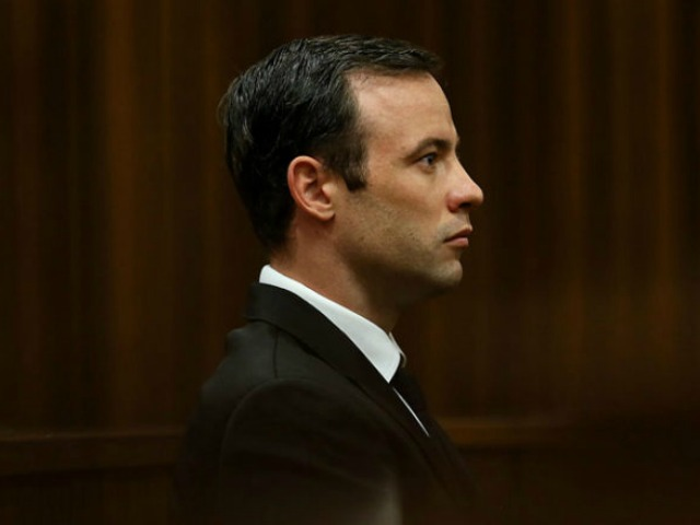 PRETORIA, SOUTH AFRICA - APRIL 18: BY COURT ORDER, THIS IMAGE IS FREE TO USE. (SOUTH AFRICA OUT) Oscar Pistorius during his appearance at the High Court on 18 April, 2016 in Pretoria South Africa for a postponement of his sentencing hearing. The sentencing was postponed to the 13th of June. (Photo by Alon Skuy - Pool/Gallo Images/Getty Images)