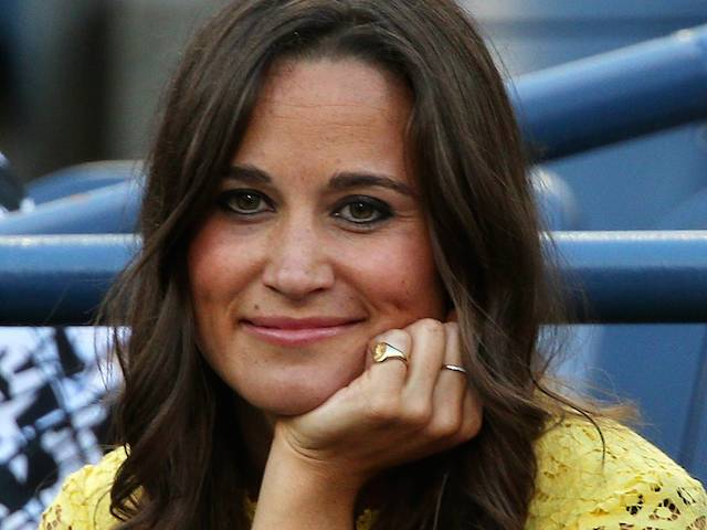 NEW YORK, NY - SEPTEMBER 05:  Pippa Middleton attends Day Ten of the 2012 US Open at USTA Billie Jean King National Tennis Center on September 5, 2012 in the Flushing neighborhood of the Queens borough of New York City.  (Photo by Clive Brunskill/Getty Images)