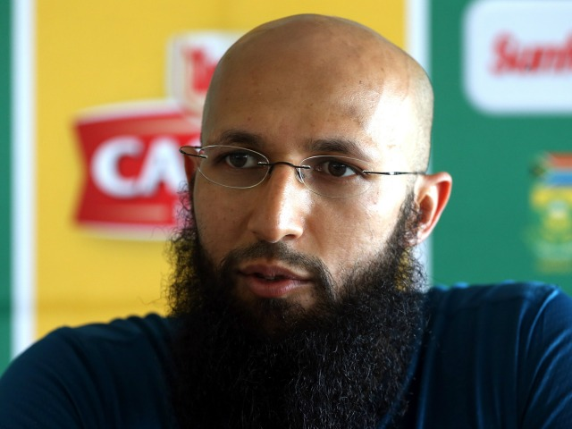 CAPE TOWN, SOUTH AFRICA - JANUARY 01: Hashim Amla of the Proteas during the South African national cricket team press conference at PPC Cement Newlands on January 01, 2016 in Cape Town, South Africa. (Photo by Carl Fourie/Gallo Images/Getty Images)