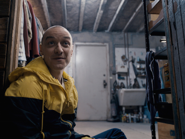 """JAMES MCAVOY in """"Split,"""" an original thriller that delves into the mysterious recesses of one man's fractured, gifted mind."""