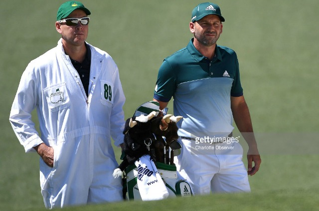 Sergio Garcia's South African Caddie Just Landed A Massive