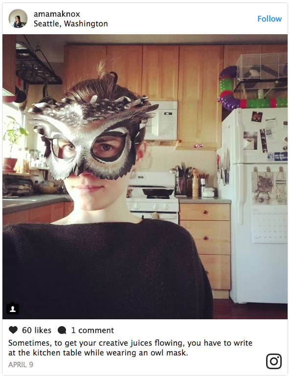 Amanda Knox makes Instagram feed public