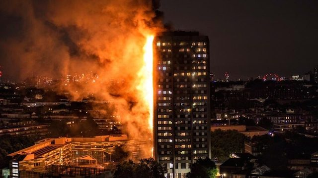 Deadly fire rips through residential building in west London