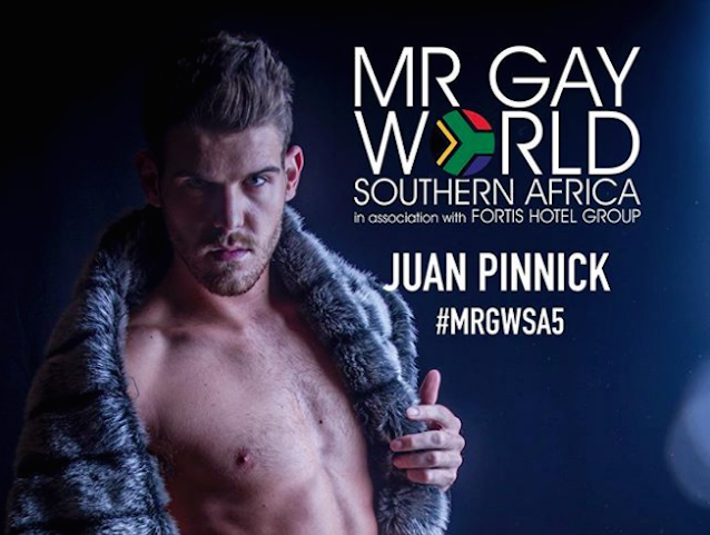 South african gay muscle man