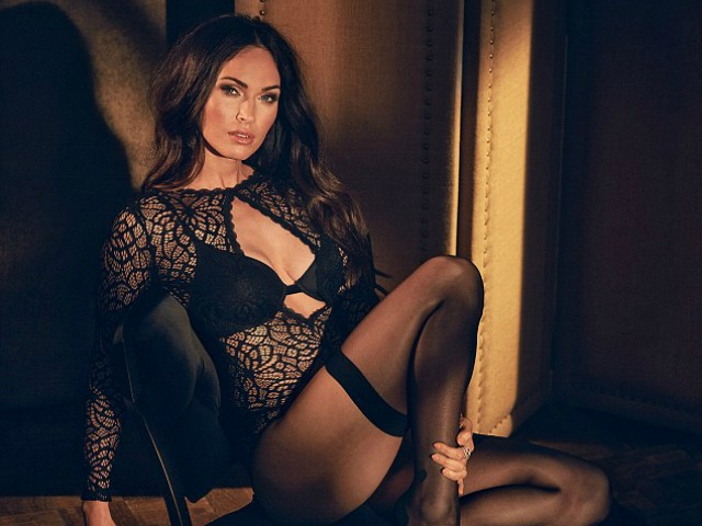 2eae14a61e3 So Megan Fox Is Still Very Easy On The Eye In New Lingerie Campaign ...