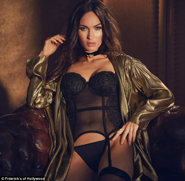 95806978e0c So Megan Fox Is Still Very Easy On The Eye In New Lingerie Campaign ...