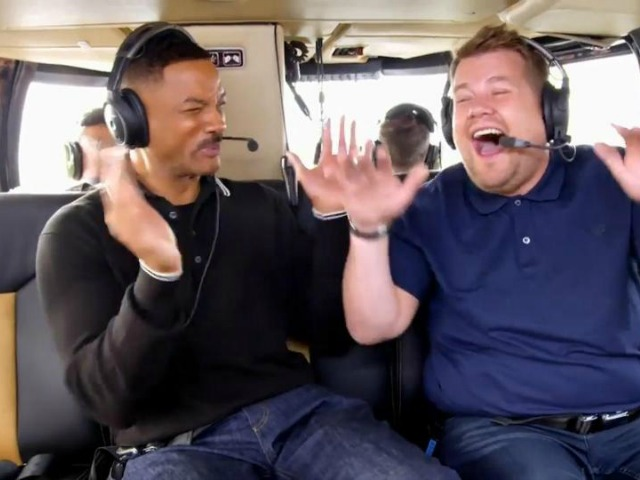 James Corden Gets Rapping With Will Smith In Carpool Karaoke Video