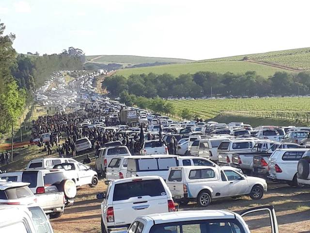 South Africans organise #BlackMonday protests over farm murders