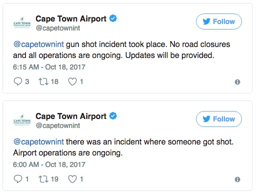 Cape Town airport shooting: Suspected gang boss targeted