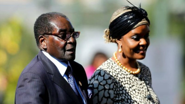 South Africa 'dangerous' for Robert Mugabe and wife Grace – report