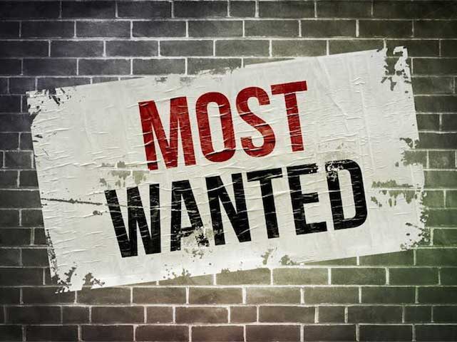 Image result for most wanted image