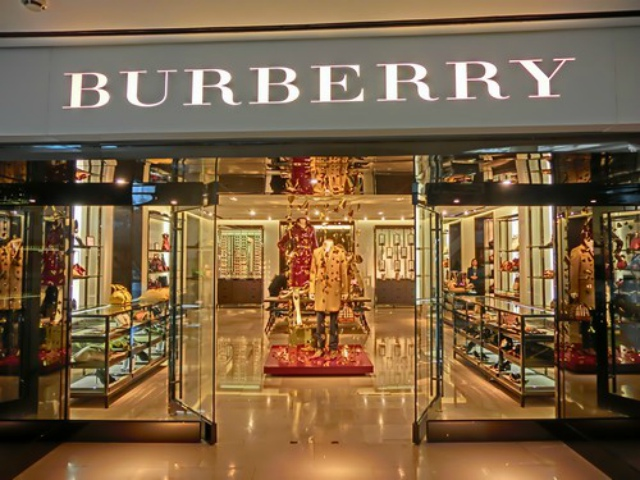 Burberry Burnt - Yes, Burnt - Clothes Worth £28 Million Last Year