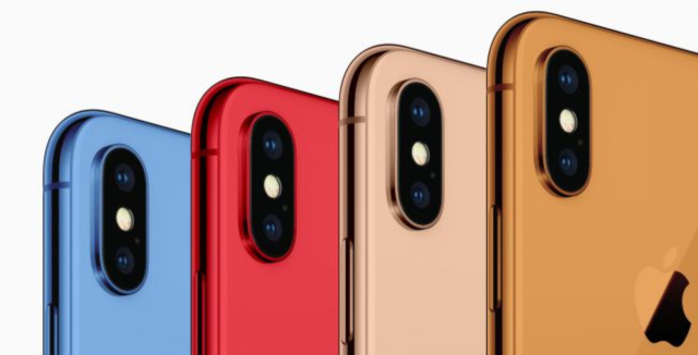 Apple's new smartphones will be based on the iPhone X design