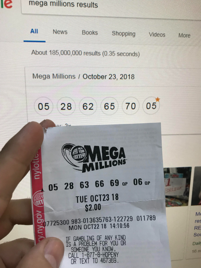This Mega Millions Lottery Ticket Will Make You Cry – 2oceansvibe com