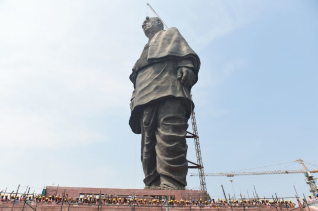 India unveils world's tallest statue at a cost of $610 million