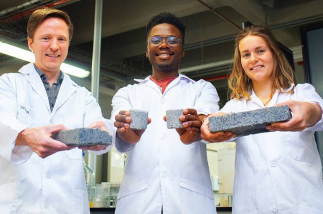 Much Excitement As UCT Creates World's First Human Urine Building Brick