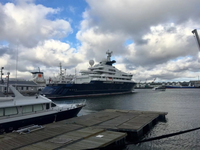 What Happens To Paul Allen S Superyacht That S Docked In The V A