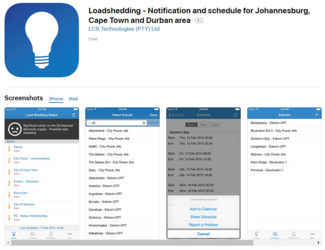 You Need To Get These Load Shedding Apps – 2oceansvibe com