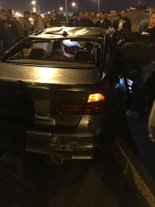 Crazy Street Racing Crash On N1 [Images+Videos