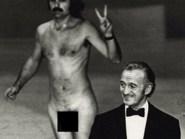 You Know There Was Once A Streaker At The Oscars, Right?