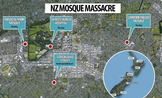 Chilling Footage Of Arrest From New Zealand Mosque Massacre