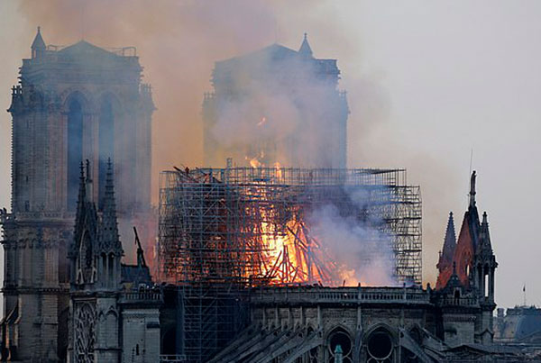 Can You See Jesus In This Notre-Dame Fire Pic?