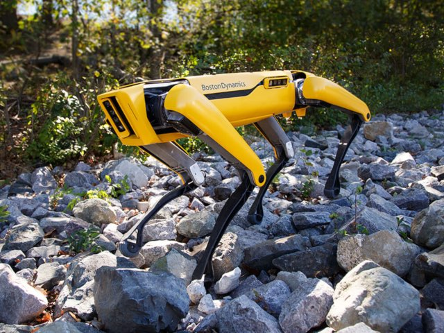 Boston Dynamics' Robot Dogs Display Terrifying Strength By Pulling A Truck Uphill