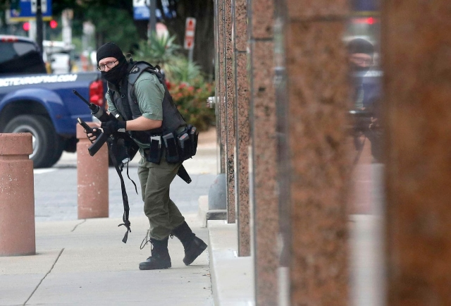 Photographer's Incredible Picture Of US Shooter And Video Of Takedown