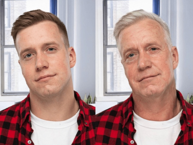 Incredible FaceApps Of People Compared To Their Parents