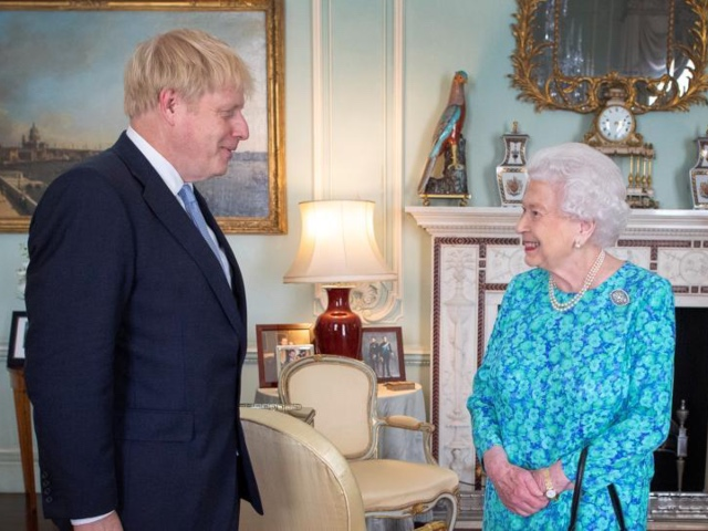 Let's See The Queen Meeting New UK Prime Minister, Boris