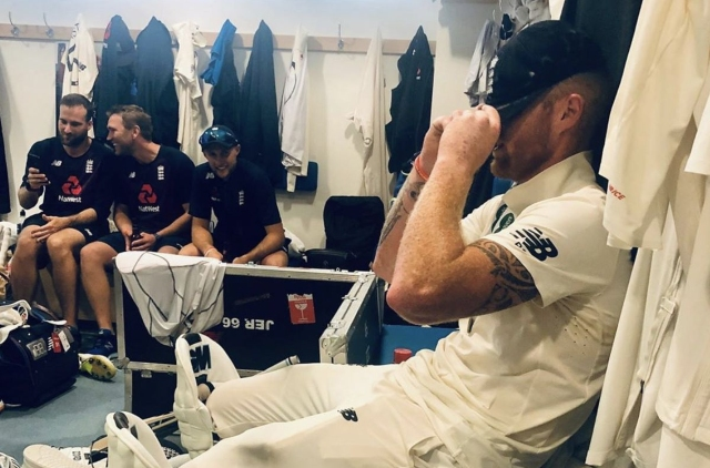 Ashes 2019: Leach reveals superstitious Stokes wore his box during Headingley heroics