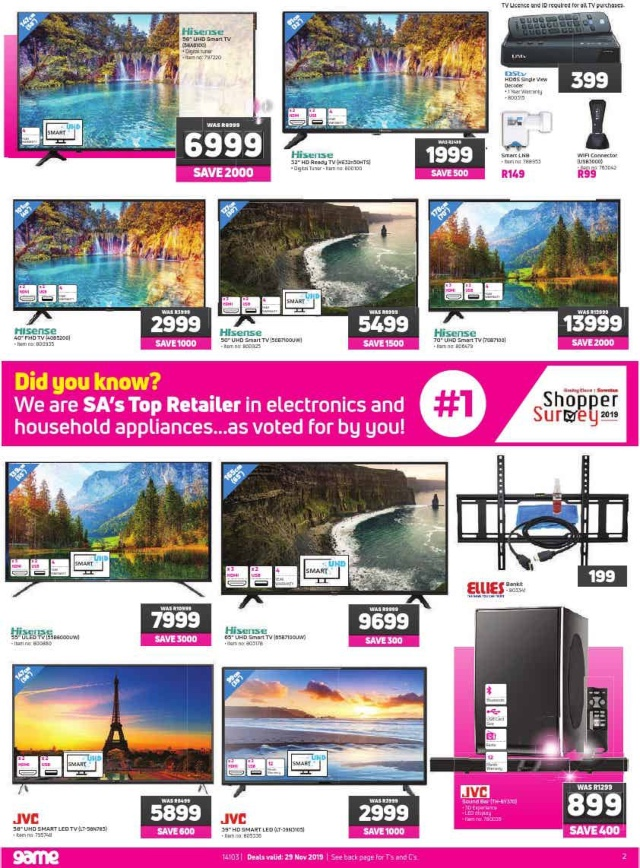 We Got Our Hands On Game S Black Friday Deals Leaflet Pdf 2oceansvibe News South African And International News