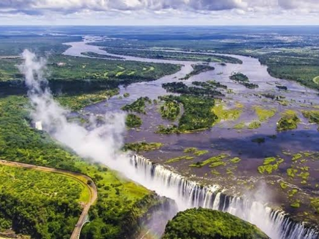 Victoria Falls Is In Danger Of Running Dry Video